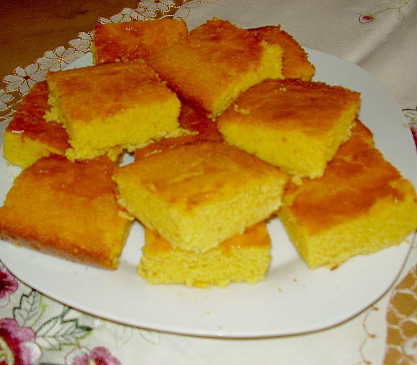 Kuchen maismehl rezept