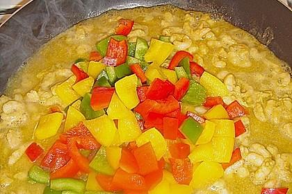 Axels Garnelen mit Curry Tandoori Paste mariniert 1