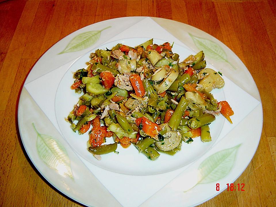 Rezept thunfischsalat grune bohnen
