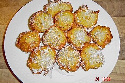 Quarkbällchen mit Kokos