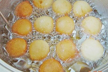 Quarkbällchen mit Kokos 2