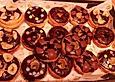 Donuts für die Backform