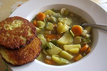 Pfälzer Kartoffelsuppe oder Grumbeeresupp