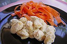 Gnocchi mit Schinken und Käsesauce
