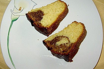 Marmorkuchen mit Mascarpone und Nougat 58
