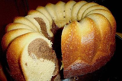 Marmorkuchen mit Mascarpone und Nougat 48