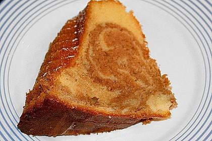 Marmorkuchen mit Mascarpone und Nougat 68