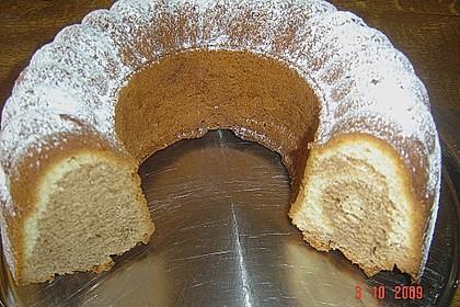 Marmorkuchen mit Mascarpone und Nougat 66