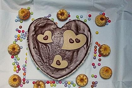 Marmorkuchen mit Mascarpone und Nougat 57