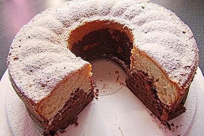 Marmorkuchen mit Mascarpone und Nougat 52