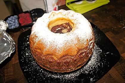 Marmorkuchen mit Mascarpone und Nougat 74