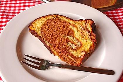 Marmorkuchen mit Mascarpone und Nougat 19