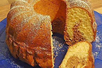 Marmorkuchen mit Mascarpone und Nougat 41