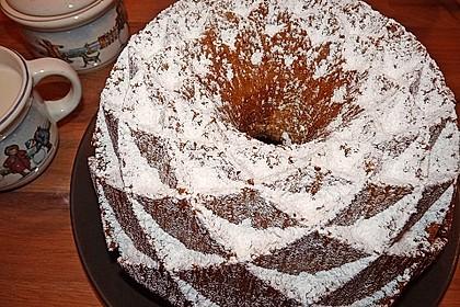 Marmorkuchen mit Mascarpone und Nougat 6