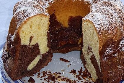 Marmorkuchen mit Mascarpone und Nougat 13