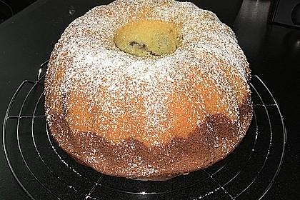 Marmorkuchen mit Mascarpone und Nougat 12