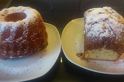 Marmorkuchen mit Mascarpone und Nougat 64