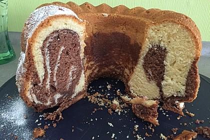 Marmorkuchen mit Mascarpone und Nougat 24