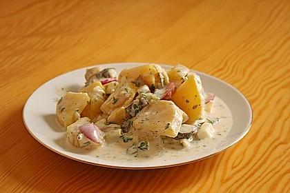 Kartoffelsalat mit leichtem Buttermilch - Joghurt - Dressing 1