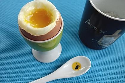 Weich gekochtes Ei - Spezialrezept