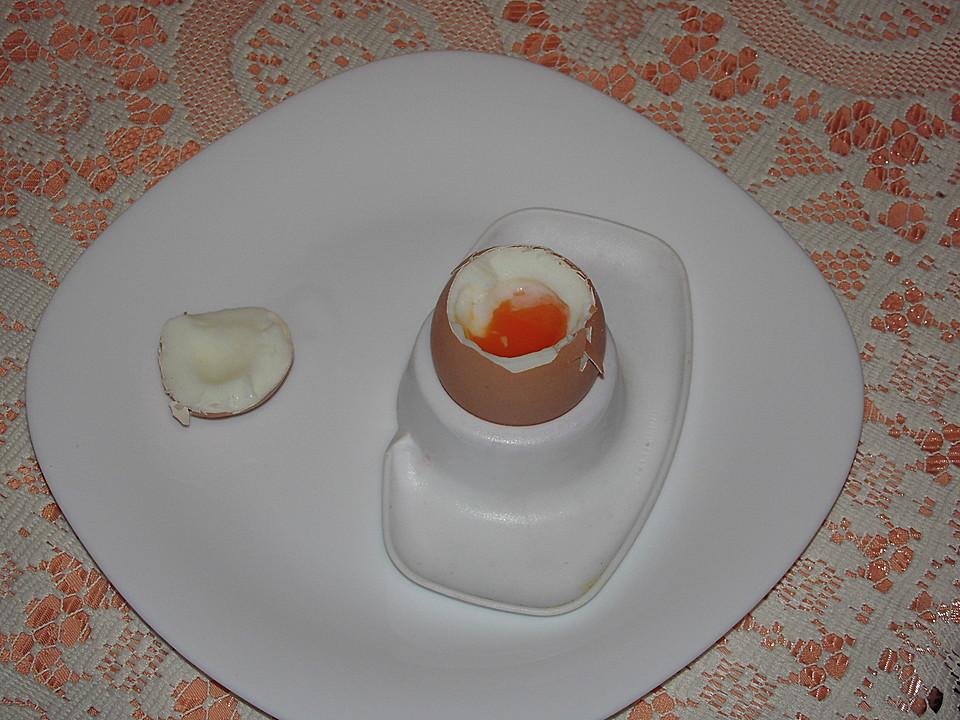 Weich gekochtes Ei - Spezialrezept (Rezept mit Bild) | Chefkoch.de