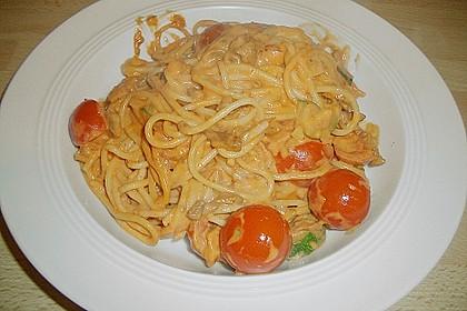 Puten - Zucchini - Pfanne mit Pfifferlingen 3