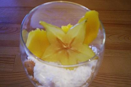Quark - Tiramisu - Creme mit verschiedenen Früchten 1