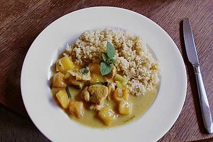 Cape Town - Chicken Curry 13