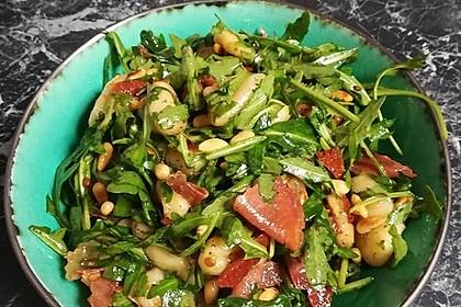 Gnocchi-Salat mit Pinienkernen und getrockneten Tomaten 1