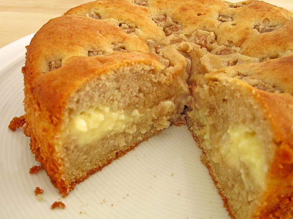 apfelkuchen mit puddingcreme rezept mit bild von daxi75. Black Bedroom Furniture Sets. Home Design Ideas
