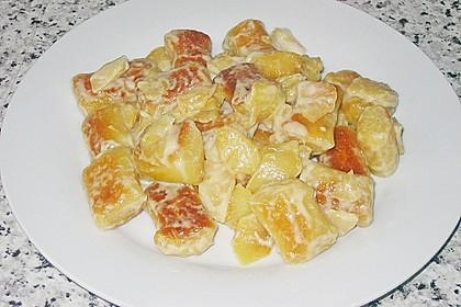 Süße Erdäpfelnudeln mit Äpfeln 5
