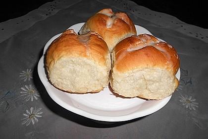 Buttermilch - Hefebrötchen 18