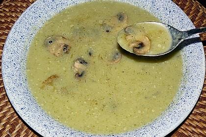 Töginger Brokkoli - Cremesuppe
