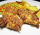 Putenschnitzel mit Kräuter - Parmesan - Panade