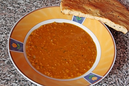 Rote Linsen - Suppe 7