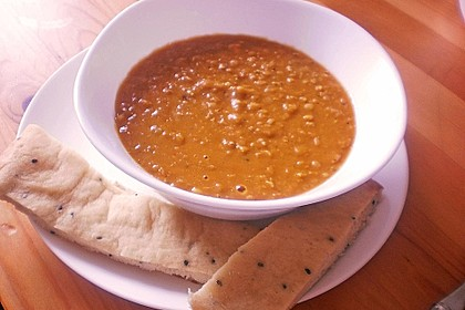 Rote Linsen - Suppe 4
