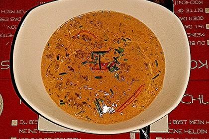 Käse - Sahne - Hackfleisch - Suppe