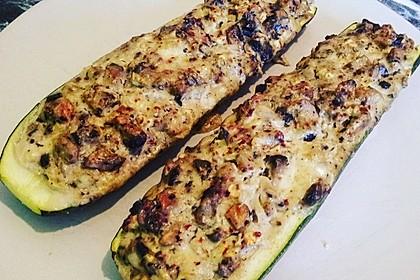 Gefüllte Zucchini 27