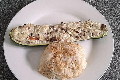 Gefüllte Zucchini 41