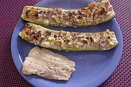 Gefüllte Zucchini 71