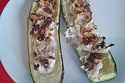 Gefüllte Zucchini 81