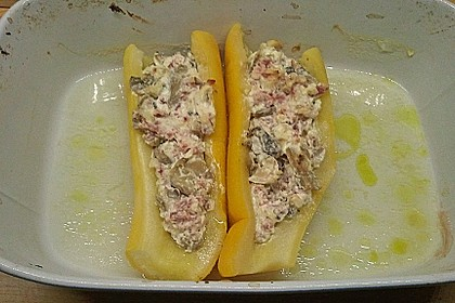 Gefüllte Zucchini 61
