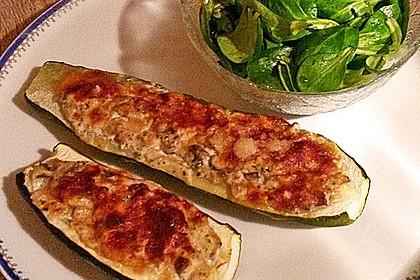 Gefüllte Zucchini 36
