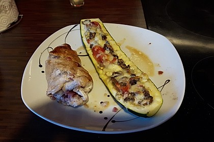 Gefüllte Zucchini 30