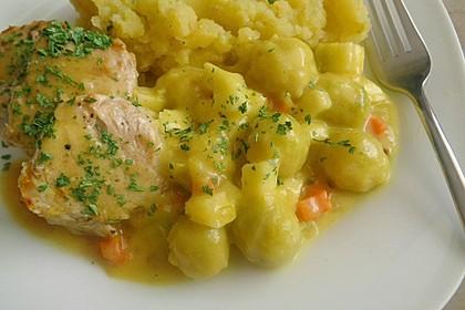 Rosenkohl in Apfel - Curry - Rahm 13