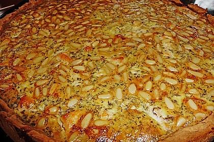 Quiche mit Lachs, Spinat und Pinienkernen 20