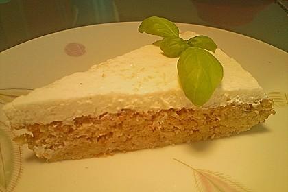 Fitness Apfel - Nuss Kuchen mit Quarkhaube