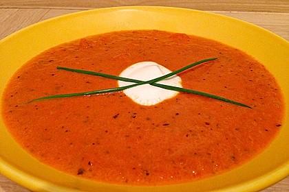 Karotten - Tomaten - Suppe 7