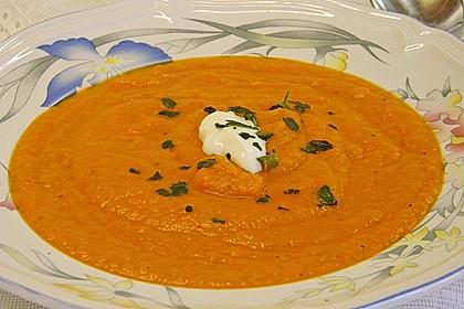 Karotten - Tomaten - Suppe 4