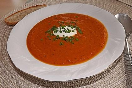 Karotten - Tomaten - Suppe 2